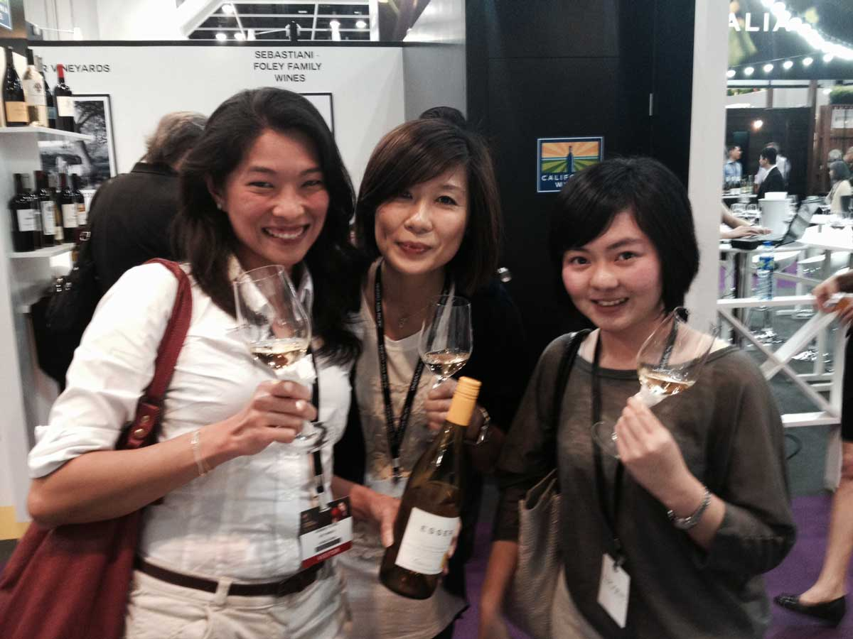 Another another love affair started for Esser Chardonnay with 3 Hong Kong Sommeliers