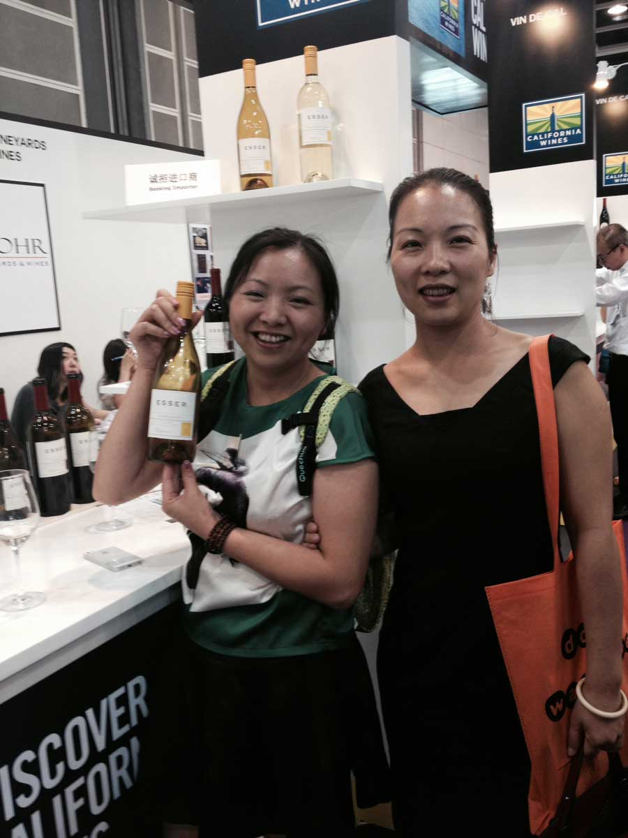 Esser Chardonnay is a hit in Hong Kong