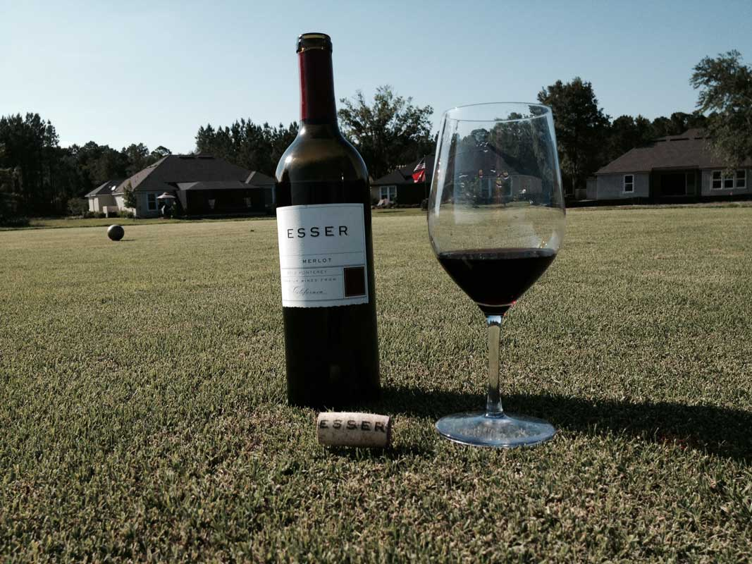 Esser Merlot: Good for another 20 yards off the tee