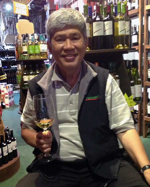 "Mr. Lee of Wine Safari in Kuala Lumpur is enjoying the #18 of the Top 100 BEST BUY Wines of 2014 of the Wine Enthusiast. He says ""Wow"""