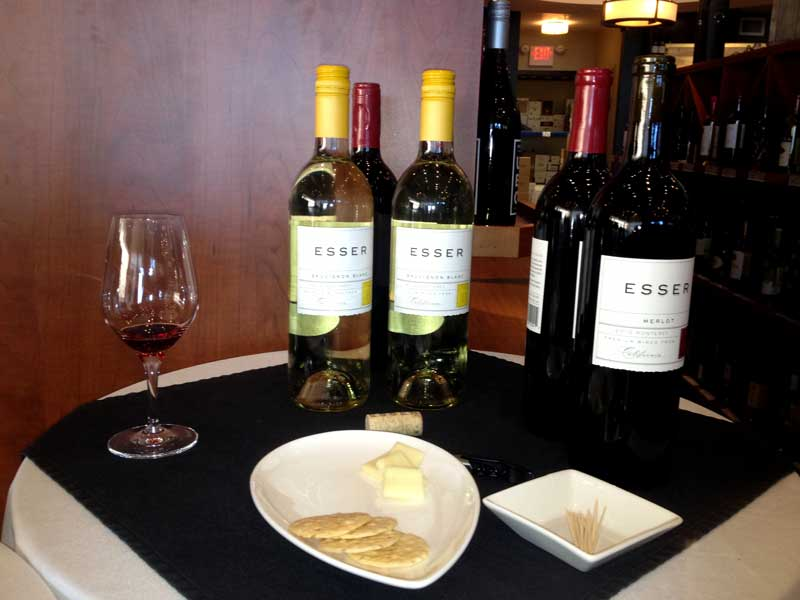 Esser Vineyards Wine Tasting in Manitoba, Canada