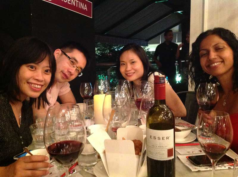 Esser Vineyards at the Kuala Lumpur Wine Festival