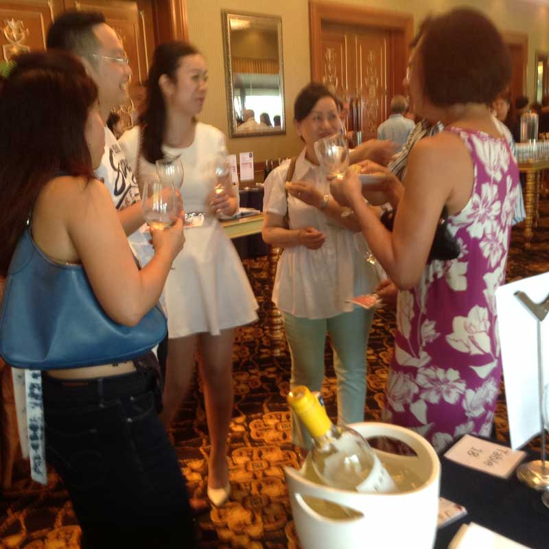 Sophisticated wine drinkers of Kota Kinabalu enjoy the great wines of Esser Vineyards from Monterey