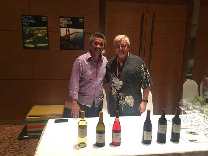 After years of friendship they meet again in HoChi Minh City. Peter K. Huwiler, Esser Vineyards and Duke, Resort Developer in Vietnam.