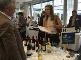 Esser Wines at the CWI London Wine Show